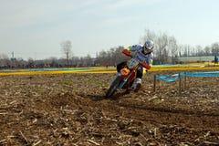 Regionale Meisterschaft Enduro Stockbilder