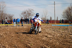 Regionale Meisterschaft Enduro Stockfotos
