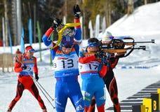 Regionale Schale IBU in Sochi Lizenzfreies Stockfoto