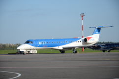 Regionaler Jet BMI Stockbild