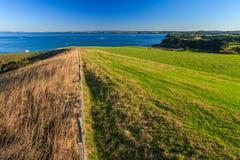 Regionaler Park Shakespear, Auckland-Region, Neuseeland Stockfotos