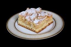 Regionalności Polski tradycyjny ciasteczko z serem, makowi ziarna, jabłko obrazy royalty free