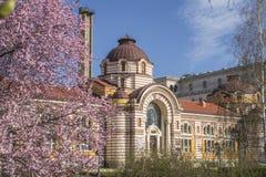 Regionalt historiemuseum av Sofia under våren arkivbilder