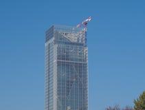 Regione皮耶蒙特摩天大楼在都灵 库存图片