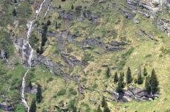 Regione dell'alta montagna Immagine Stock Libera da Diritti