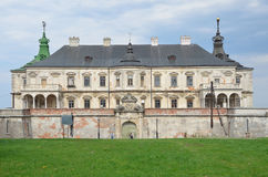 Regione dell'Ucraina, Leopoli, il castello in Podgortsy, 1445 anni Fotografia Stock