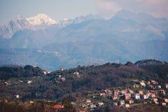 Regione della Liguria dell'italiano Fotografie Stock