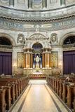 Regione della Zelanda - della Danimarca - Copenhaghen - rococò Luthe evangelico Immagine Stock