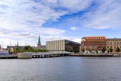 Regione della Zelanda - della Danimarca - Copenhaghen - vista panoramica di ci immagine stock