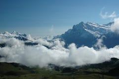 Regione di Eiger Fotografie Stock