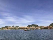 Regione di fiumi e di laghi fotografia stock
