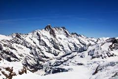 Regione di Jungfrau Immagine Stock