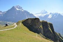 Regione di Jungfrau, Svizzera Immagini Stock Libere da Diritti