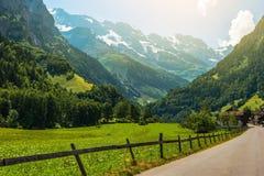 Regione di Jungfrau Svizzera Fotografia Stock