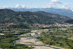 Regione di Lunigiana della Toscana del nord, Italia Fotografia Stock