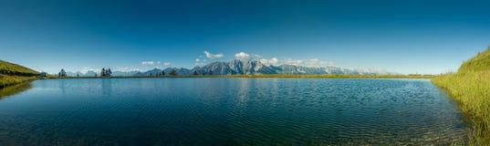 Regione di Mutteralm del Tirolo vicino ad Innsbruck fotografie stock libere da diritti