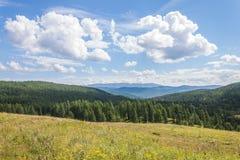 Regione di Ulagansky Fotografie Stock