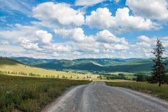 Regione di Ulagansky Fotografia Stock Libera da Diritti