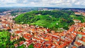 Regione Lesser Town di Praga, vicino al san Vitus, Ventseslaus e Adalbert della chiesa Immagine Stock Libera da Diritti