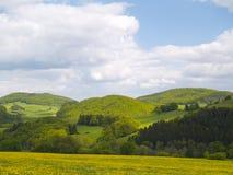Regione montagnosa Fotografie Stock