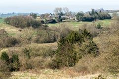 Regione montana inglese che coltiva paesaggio Fotografie Stock