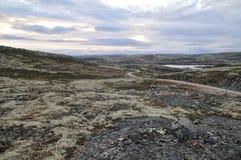 Regione polare Fotografie Stock