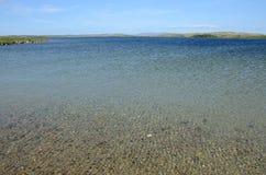 Regione polare del lago Immagini Stock Libere da Diritti