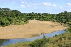 Regione selvaggia africana Fotografie Stock Libere da Diritti
