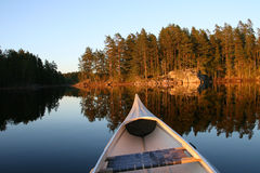 regione selvaggia svedese Fotografie Stock Libere da Diritti