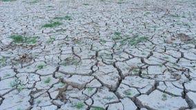 Regioni aride del paese dovuto i disastri naturali Fotografie Stock Libere da Diritti