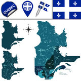Regions of Quebec, Canada Stock Photos