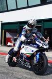 REGIS Laconi bij de gebeurtenis van de Week 2010 van Ducati van de Wereld Royalty-vrije Stock Afbeeldingen