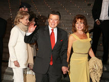 Regis Philbin and Joy Philbin Stock Photography