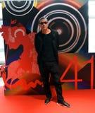 Regisseur SABU van Internationaal de Filmfestival van Japan eenenveertigste Moskou stock foto