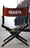 Regista - Italian cinema director Stock Image