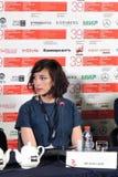 Regista Lana Wilson al trentanovesimo festival cinematografico dell'internazionale di Mosca Immagine Stock Libera da Diritti