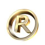 Registado Imagens de Stock Royalty Free