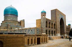 Registan Ensemble in Samarkand Royalty Free Stock Image