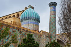 Registan Ensemble in Samarkand Royalty Free Stock Photo