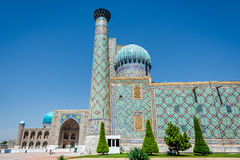 Registan mausoleum, Samarkand, Uzbekistan Royalty Free Stock Image
