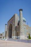 Registan mausoleum, Samarkand, Uzbekistan Stock Photography