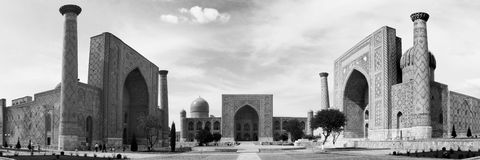 Registan square Royalty Free Stock Image