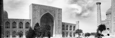 Registan square Royalty Free Stock Photography