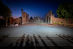 Registan Square in Samarkand Royalty Free Stock Images