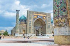 The Registan Square Stock Images