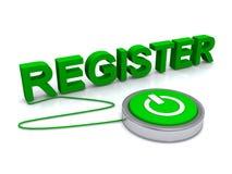 register Lizenzfreie Stockfotos