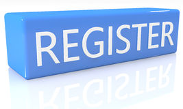 register Stock Afbeeldingen