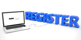 register Stock Fotografie