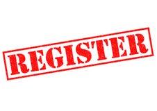 register Royalty-vrije Stock Afbeeldingen