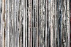 register använde vinyl Arkivbilder